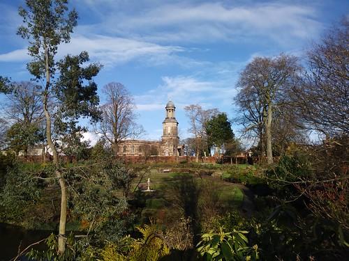 shrewsbury st chads church quarry parl trees town park