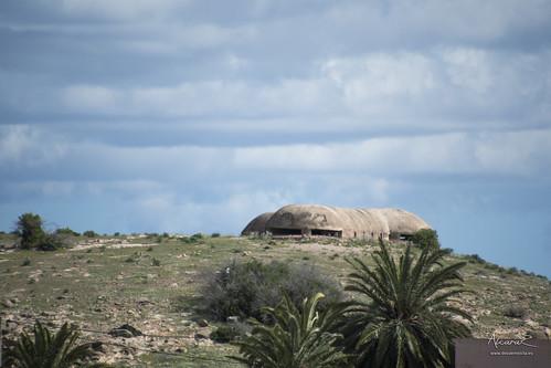 Bunkers tipo Muluya, en la zona del Puente Internacional