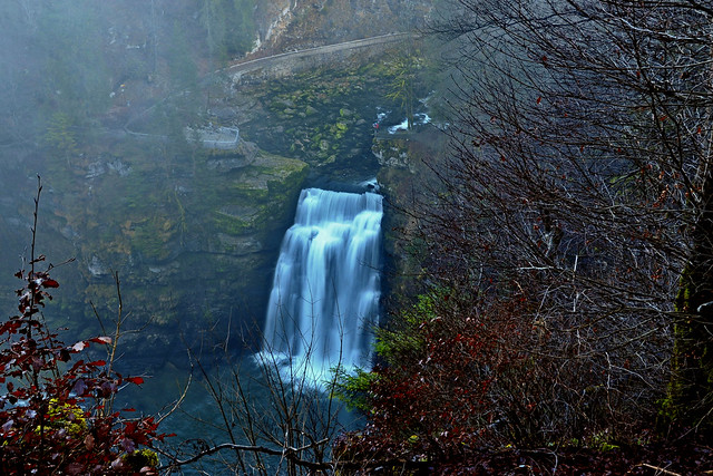 Saut du Doubs, Villers-le-Lac (French and Swiss border)