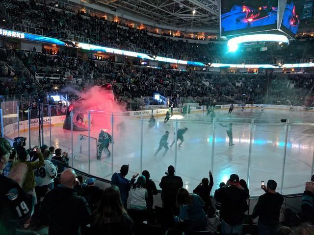 Sharks vs. Oilers