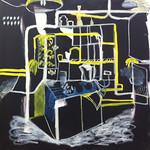 oil on canvas 100 x 100cm