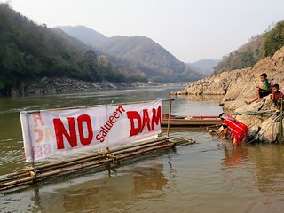 Sending a message on the Salween | by International Rivers
