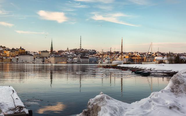 Arendal from Kolbjørnsvik