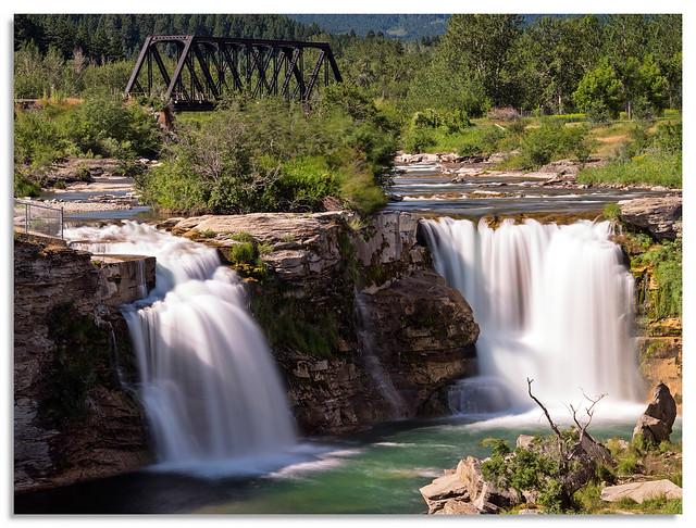 Lundbreak Falls