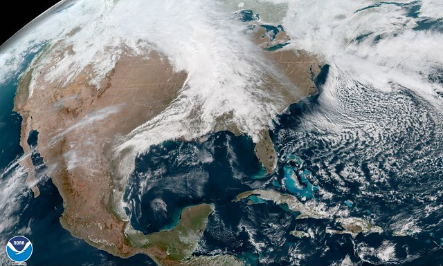Heavy Snowfall in the Northern Plains