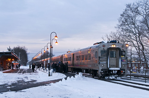 snow njt njtransit dunellennj raritanvalleyline cabcar commuter train railfan railroad