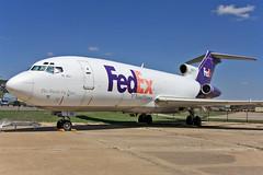 N199FE, Boeing 727-173C, Federal Express, (19509), Kansas Aviation Museum, 21/04/2013