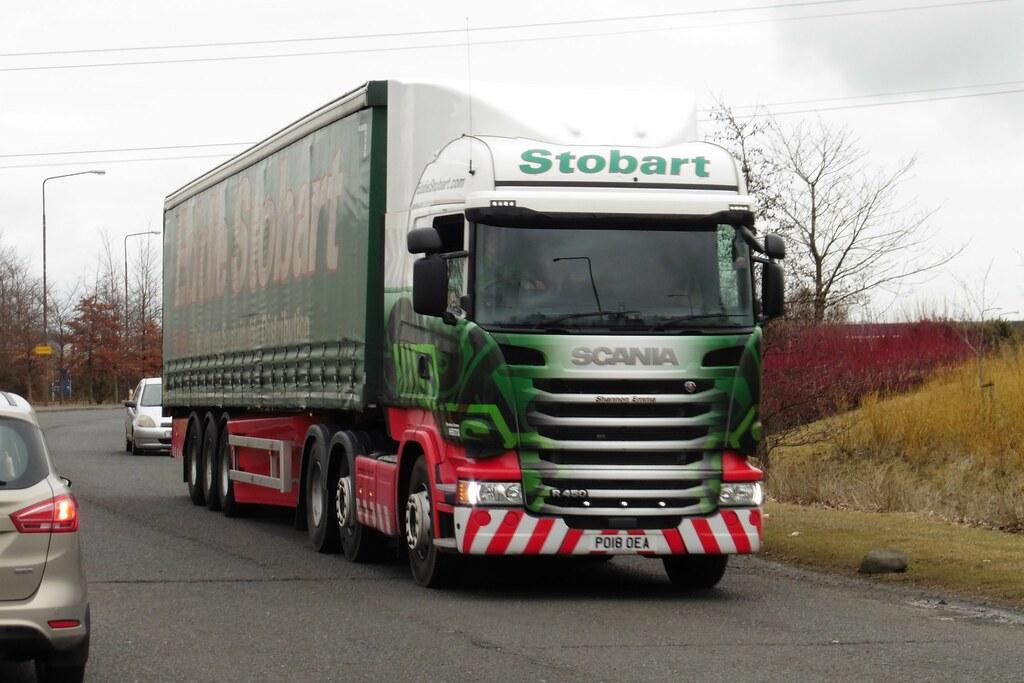 H5173 - PO18 OEA | Eddie Stobart Shannon Emma Scania R450 ...