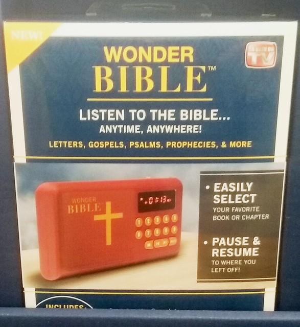 Wonder Bible in Trumpland