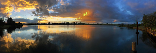 manningriver taree sunset