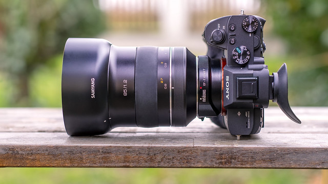 SONY ⍺7III  (ILCE-7M3) & Samyang XP 85mm ƒ/1.2 on Metabones T Mark IV