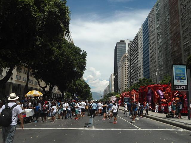 Carnaval de Río de Janeiro 2017, Avenida Presidente Vargas, Brasil/Rio Carnival 2017, Brazil - www.meEncantaViajar.com