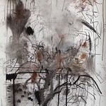 charcoal on paper 290 x 150cm 2014