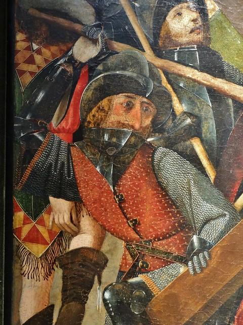 ca. 1480-1490 - 'Christ Carrying the Cross' (Juan Sánchez de Castro), Sevilla, Galería Bernat (Barcelona), BRAFA, Brussels, Belgium