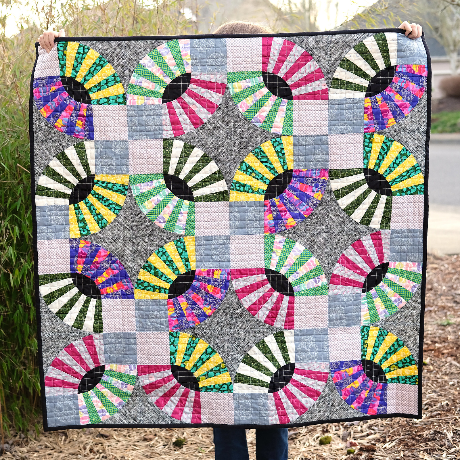 Wildside PIckledish Quilt - Kitchen Table Quilting