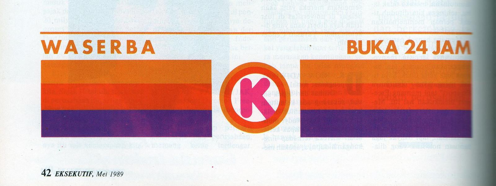 Waserba Circle K - Majalah Eksekutif, Mei 1989