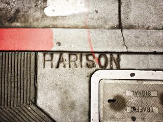 """""""Harison"""" (Harrison) Street"""