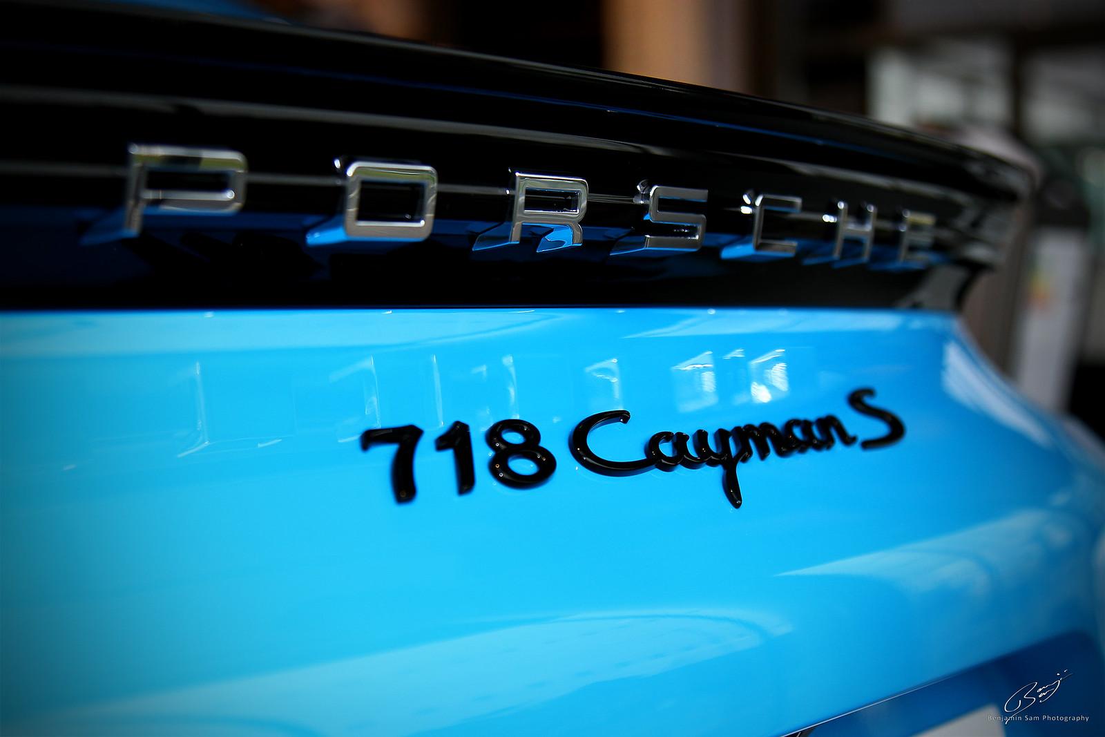 Porsche Cayman S LR
