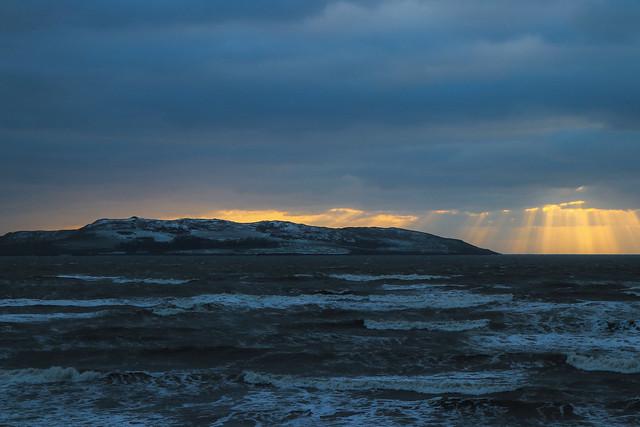 Lambay Island at dawn