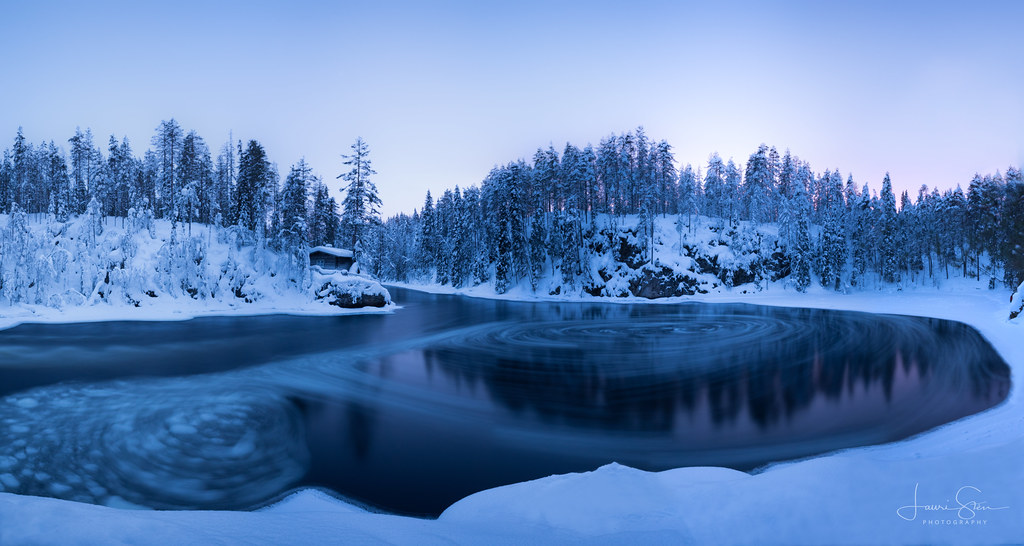 Blue Hour at Myllykoski