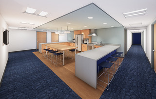 Tue, 03/13/2018 - 16:39 - An architectural rendering of the interior view of the Birch Hall renovation