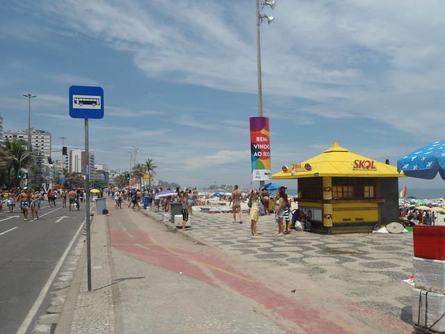 Playa de Ipanema, Carnaval de Río de Janeiro 2017, Ipanema, Brasil/Ipanema Beach, Rio Carnival 2017, Ipanema, Brazil - www.meEncantaViajar.com