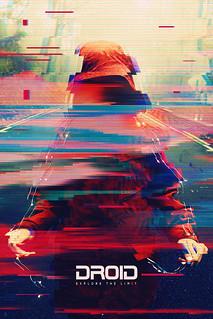 Electro Glitch Photoshop Template Ver.1