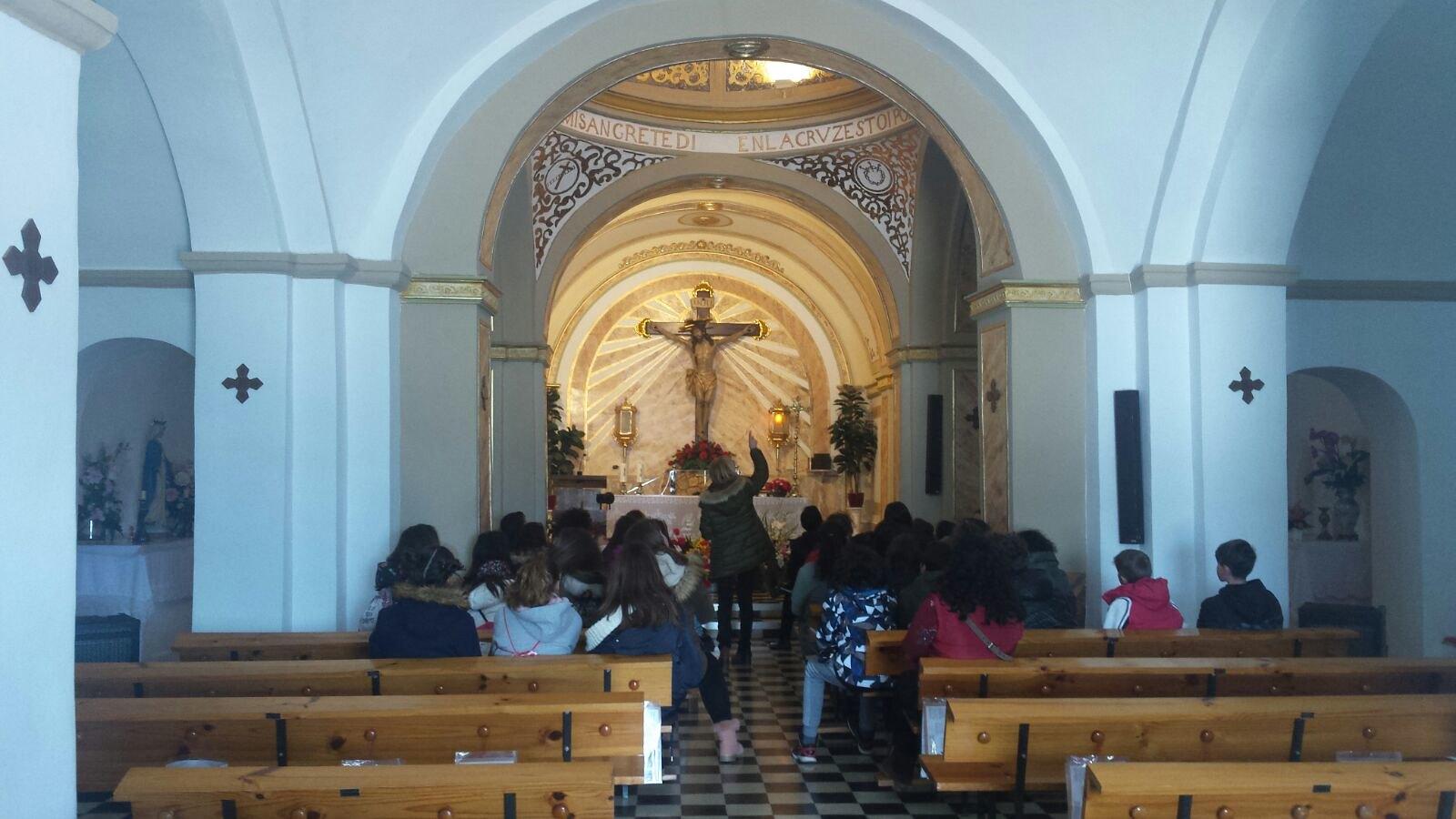 (2018-03-19) - Visita ermita alumnos Yolada-Pilar,6º, Virrey Poveda-9 de Octubre - Maria Isabel Berenquer Brotons - (13)
