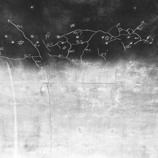 Anonymous Cartography: Cracks in Concrete