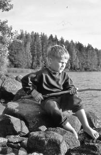140 Ilkka ongella Poikkipuoliaisissa 1964