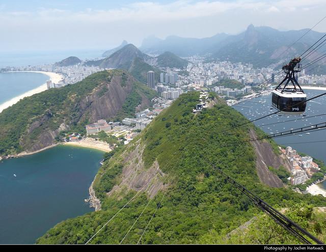 View from Pão de Açúcar, Rio de Janeiro, Brazil