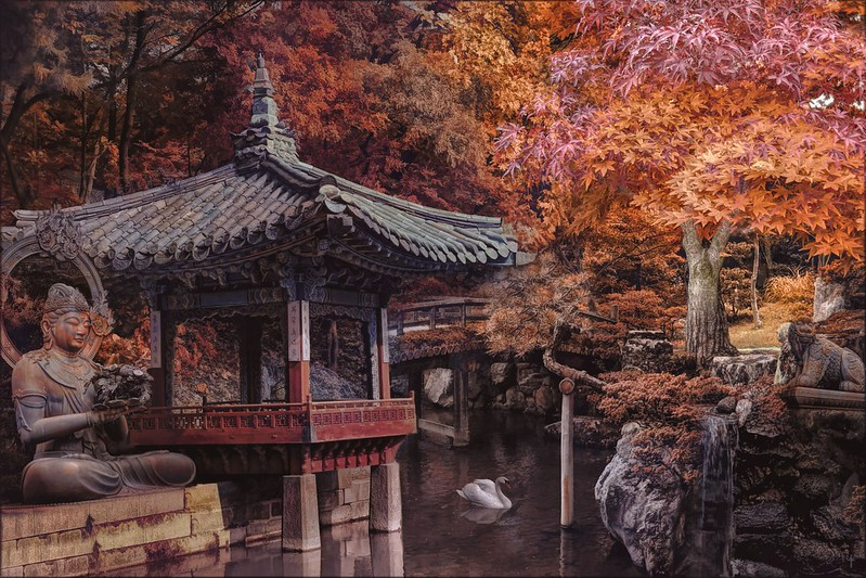 The Autumn Lake 가을 호수 - Art Week Gallery Theme