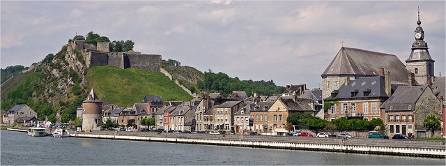 Givet on the river Meuse