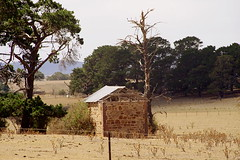ruins at Yarra, NSW, Australia