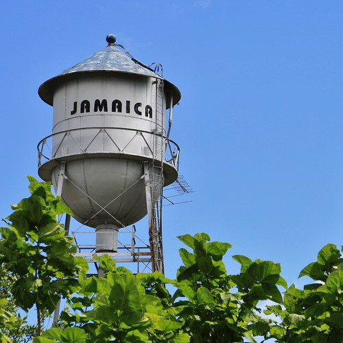 jamaica guthriecounty iowa classic old vintage water tower small town