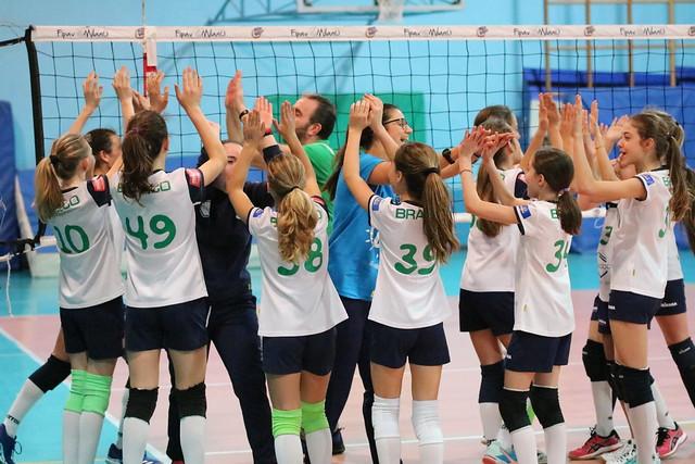 U12  - 21 Marzo 2018 Bracco Pro Patria  - Volley Segrate 2 - 1