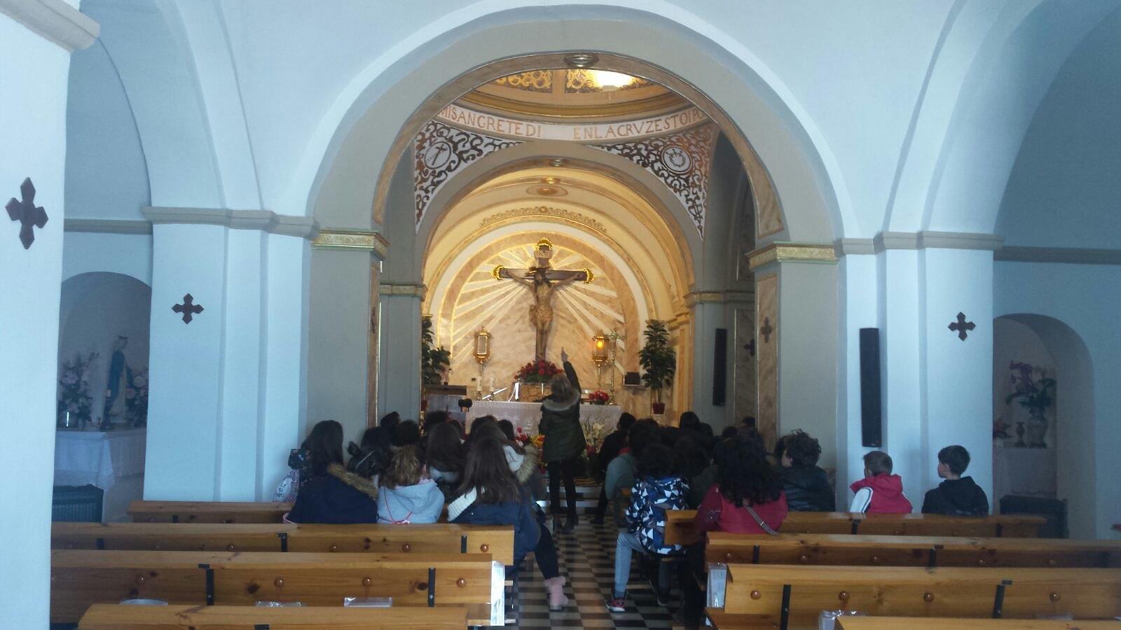 (2018-03-19) - Visita ermita alumnos Yolada-Pilar,6º, Virrey Poveda-9 de Octubre - Maria Isabel Berenquer Brotons - (12)