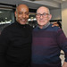 With the great Brendon Batson MBE in the Cyrille Regis Suite at The Hawthorns, West Bromwich