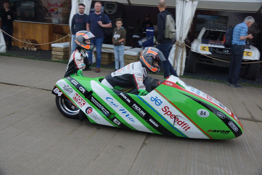 LCR-Kawasaki F2 Sidecar 599cc Four-Cylinder Four-Stroke 20