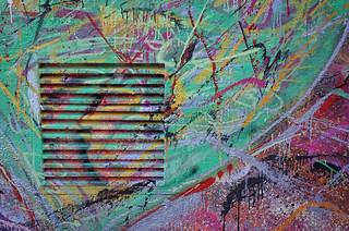 Abstract Detail of Graffiti