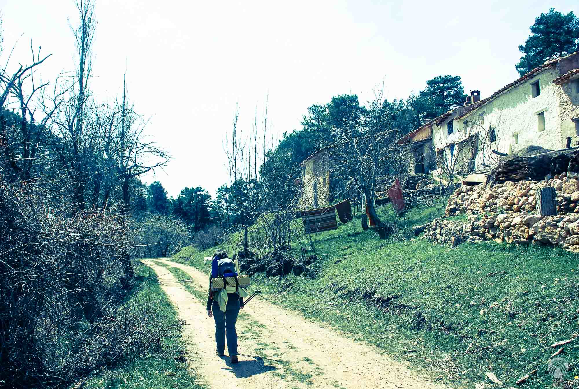 La primavera todavía no ha llegado a la Cañada del Saucar