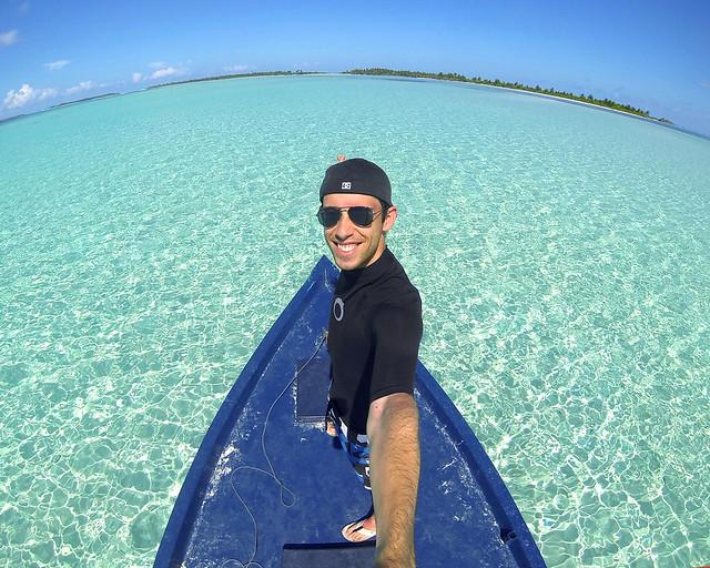 Así se puede viajar a las islas Maldivas, en barca de pescadores