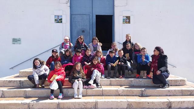 (2018-03-22) - Visita ermita alumnos Laura,3ºC, profesora religión Reina Sofia - Marzo -  María Isabel Berenguer Brotons (01)
