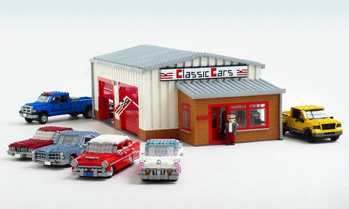 Classic Car Garage | by Mad physicist