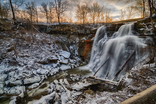 brandywinecreek brandywinefalls cuyahogavalleynationalpark hdr nikon nikond5300 ohio clouds geotagged ice icicle icicles longexposure morning park river rocks sky snow sunrise tree trees water winter northfield unitedstates
