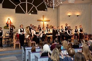 Göta Brass Band tar emot publikens uppskattning