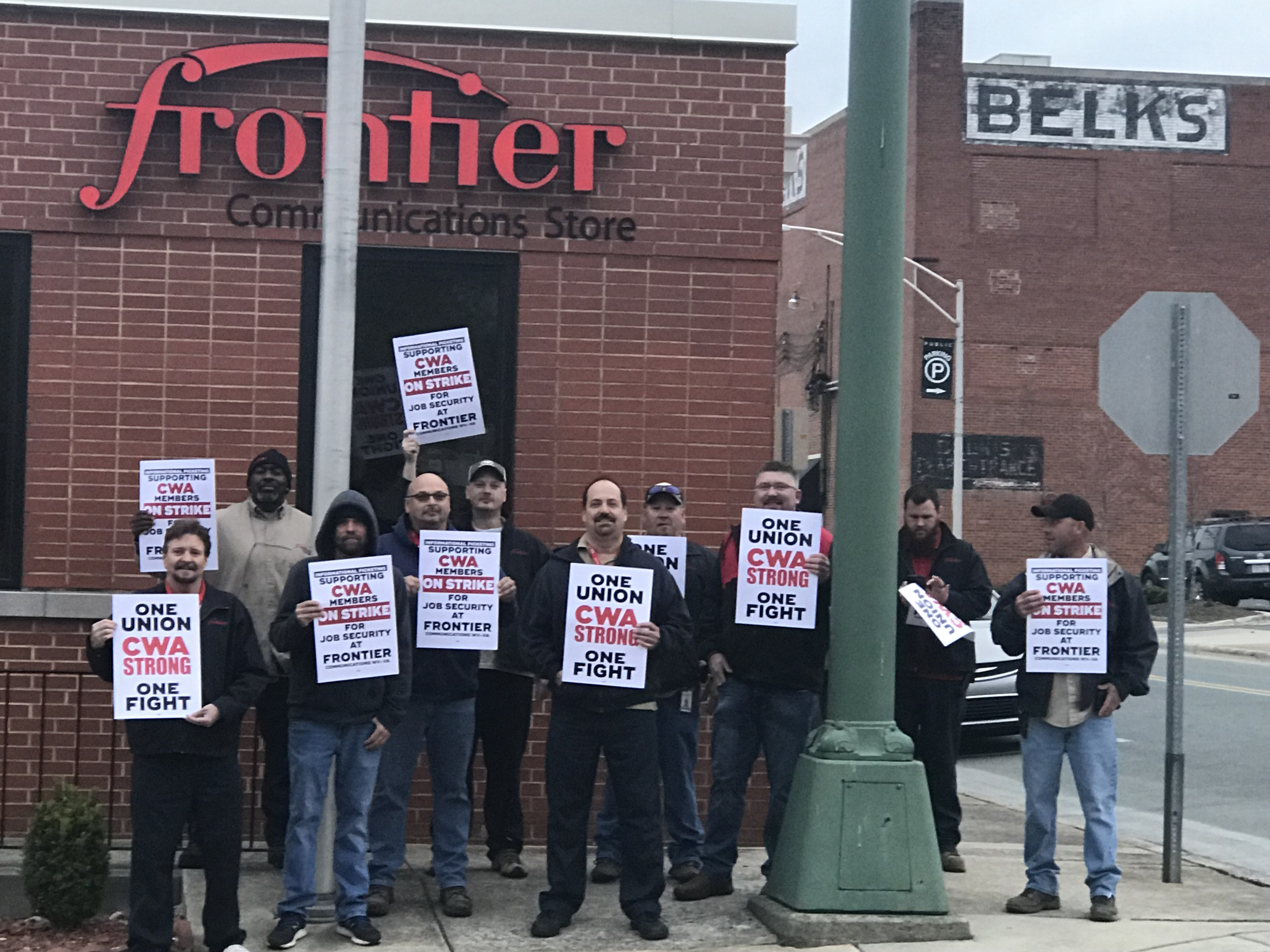 Frontier Strike Solidarity Action in Charlotte, NC