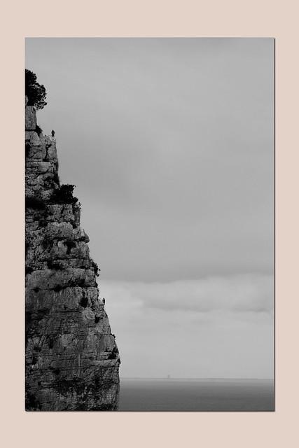 cliff of Monte Orlando, Gaeta, Lazio