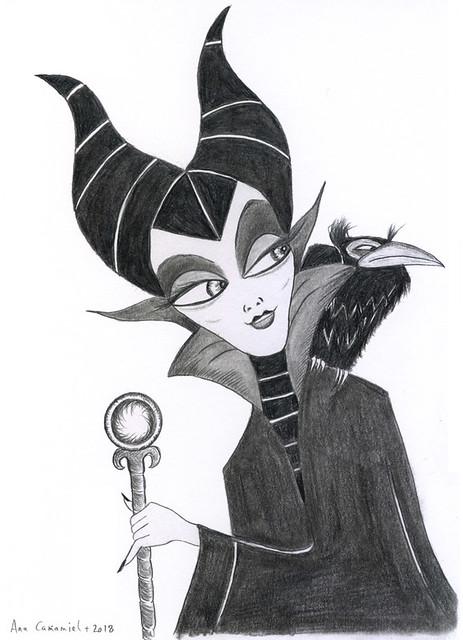 Maleficent & Diablo