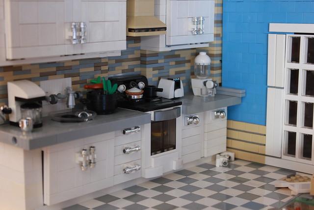 lego kitchen moc